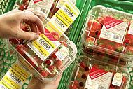 etiketa nalepka za označevanje sadja in zelenjave
